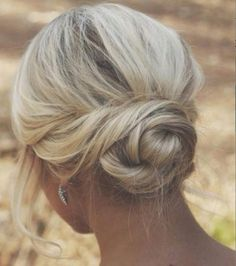 Easy Braided Updo - 17 Elegant Updos for Pretty Ladies - The Trending Hairstyle Easy Updos For Medium Hair, Medium Long Hair, Medium Hair Styles, Short Hair Styles, Updo Styles, High Bun Hairstyles, Short Hair Updo, Updo Hairstyle, Quick Hairstyles