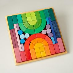 grimms | big box of colorful blocks