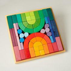 grimms | big box of colorful blocks