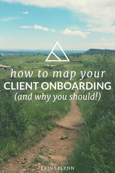 Getting lost is frustrating. When you don't know which way to go or what happens next, you get anxious and angry. That's how your clients feel if your onboarding process is rough or confusing. And when they feel frustrated and anxious before the project even begins, you'll be fighting an uphill battle to make them happy. Click through now to learn how to map your client onboarding process!