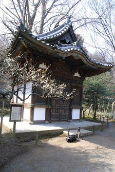 Juto Oido of Old Tenzuiji. Erbaut in 1591 von dem Shogun Hideyoshi Toyotomi.