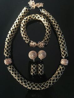 78bb8992a3674 29 Best New Handmade African Nigerian Beads Jewelry Sets images in ...