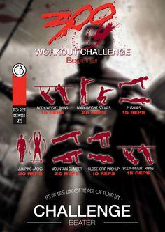 Printable Sample 300 workout Form