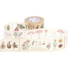 breites mt Washi Masking Tape Klebeband mit Pflanzen