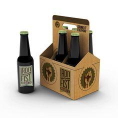 Iron Fist Brewery by Sara Thorson, via Behance