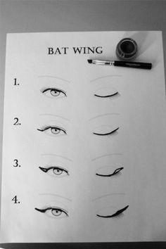 Cat Eye Vs. Bat Wing | I Can Style U Blog