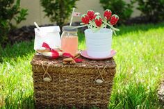 Strawberry Picnic | CatchMyParty.com