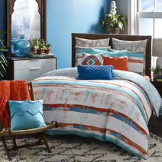 Siesta 3 Piece Duvet Set