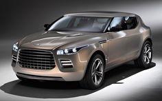 Aston Martin Lagonda SUV concept car front right angle