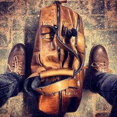 hardgraft double take weekend bag