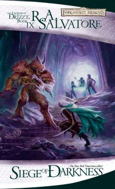 Amazon.com: Siege of Darkness: The Legend of Drizzt, Book IX eBook: R.A. Salvatore: Kindle Store
