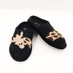 f4616c5b6e01 Extra Off Coupon So Cheap Haflinger Giraffe Slippers 7 M Wool