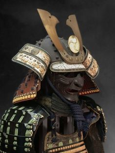 A Kabuto is a helmet used with traditional Japanese armor usually worn by the samurai class.