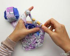 How to Make a Crocheted Rag Rug via wikiHow.com