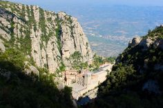 I spent today away from Barcelona at a place called Montserrat which is a mountain top monastery in the Catalonia part of Spain...