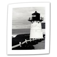 @Overstock - Artist: Kathy Yates  Title: Montara Lighthouse   Product type: Wrapped Canvas http://www.overstock.com/Home-Garden/Kathy-Yates-Montara-Lighthouse-Canvas-Art/7588067/product.html?CID=214117 $19.49