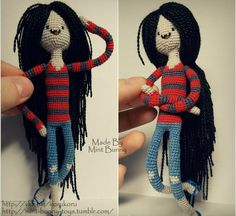 Marceline the Vampire Queen Crochet Amigurumi - Adventure Time
