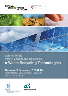 e-Waste Patent Landscape Report Launch