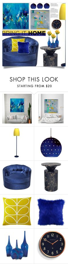 """Bring it home!"" by samra-bv ❤ liked on Polyvore featuring interior, interiors, interior design, home, home decor, interior decorating, Orla Kiely and Newgate"