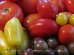 Germination & Growing Information for Vegetables