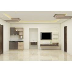Thespiae Living Room Set with Laminate Finish