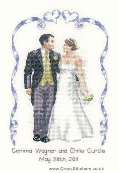 wedding celebration peter underhill wedding collection cross stitch kit
