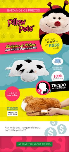 THIPOS   Email Marketing - Promo Pillow Pets