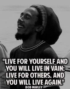 Bob Marley Life Quotes