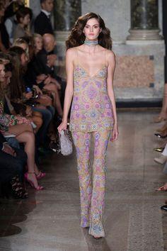 visual optimism; fashion editorials, shows, campaigns & more!: emilio pucci s/s 2015 milan