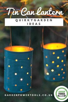 Quirky Garden Ideas with Upcycle Baked Bean Cans Looking for some quirky, unique garden decoration ideas? Perhaps A DIY job to make it truly unique? Here are 33 of the best quirky garden ideas to try today Unique Garden Decor, Unique Gardens, Amazing Gardens, Vintage Garden Decor, Modern Gardens, Outdoor Garden Decor, Garden Gazebo, Outdoor Crafts, Garden Decorations