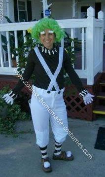Cool Oompa Loompa Halloween Costume