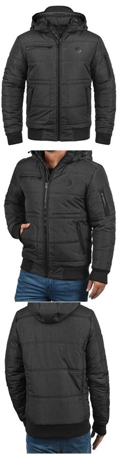 NAKETANO ITALO POP Dark Blue Herren Jacke Winterjacke Blau