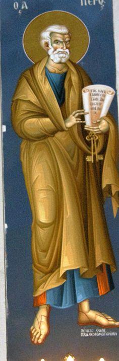 Themis Petrou - Saint Athanasio's Church - Find Creatives Byzantine Icons, Nashville Tennessee, Athens Greece, Ikon, Fresco, Ethereal, Saints, Creative, Fictional Characters