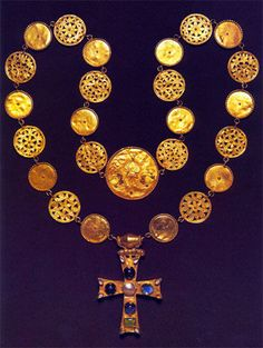 Necklace, Constantinople (?), around 600