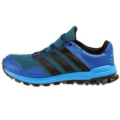 Adidas Slingshot Tr Mens AF6589 Blue Black Trail Running Shoes Sneakers Size 13