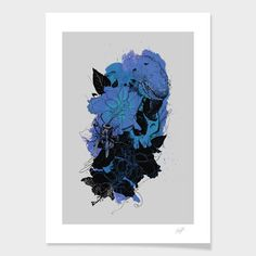Pollination Print 50x70, 84€, now featured on Fab.