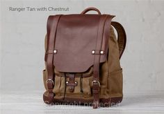 The Leather Backpack   Leather Bags   Pad \u0026 Quill