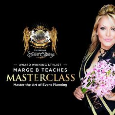 Learn Event Planning from scratch. Event Styling, Master Class, Event Planning, Life Is Good, Stylists, How To Plan, Celebrities, Movie Posters, Image
