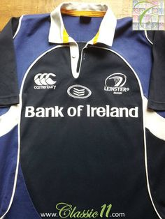 66e58116ef4 Relive Leinster's 2007/2008 season with this vintage Canterbury home rugby  shirt.