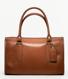 e070242886be Coach Classic Leather Madison Satchel in British Tan