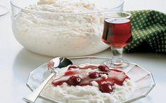 Risalamande med kirsebærsauce