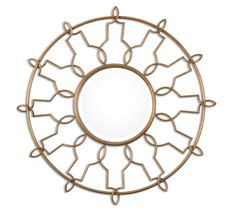 Antiqued Gold Leaf Spiral Mirror    Click here to purchase: http://www.houzz.com/photos/22130871/lid=10855652/Antiqued-Gold-Leaf-Spiral-Mirror-mediterranean-mirrors