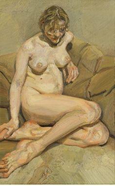 "Lucian Freud's ""Seated Figure"""