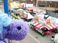 The Ohio State Fair is amazing- a week and a half of fun, food, and great things to do! A wonderful thing to do in Ohio.