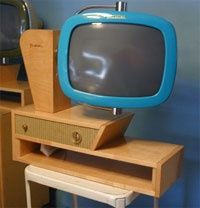 MCM tv & stand