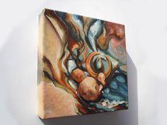 Aia Leu 'Water Fusion' http://www.aialeu.com/paintings/water-fusion
