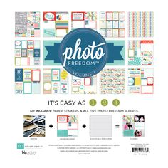 Echo Park - Photo Freedom Volume 1 Collection - 12 x 12 Collection Kit at Scrapbook.com $11.49