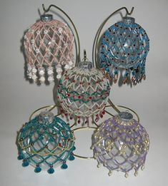 Free Beaded Victorian Ornaments Patterns | Shipwreck Beads - Support