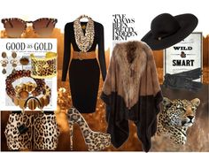 """Take a walk on the wild side"" by laurie-molly-downs on Polyvore"
