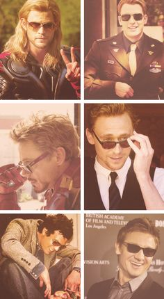 Avengers and their snazzy shades ;)